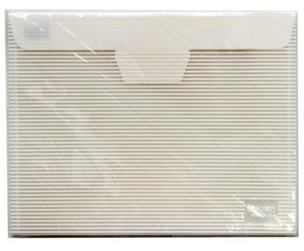 万博苹果手机登录版(deli) 5508 插口式文件袋 白色 10只装